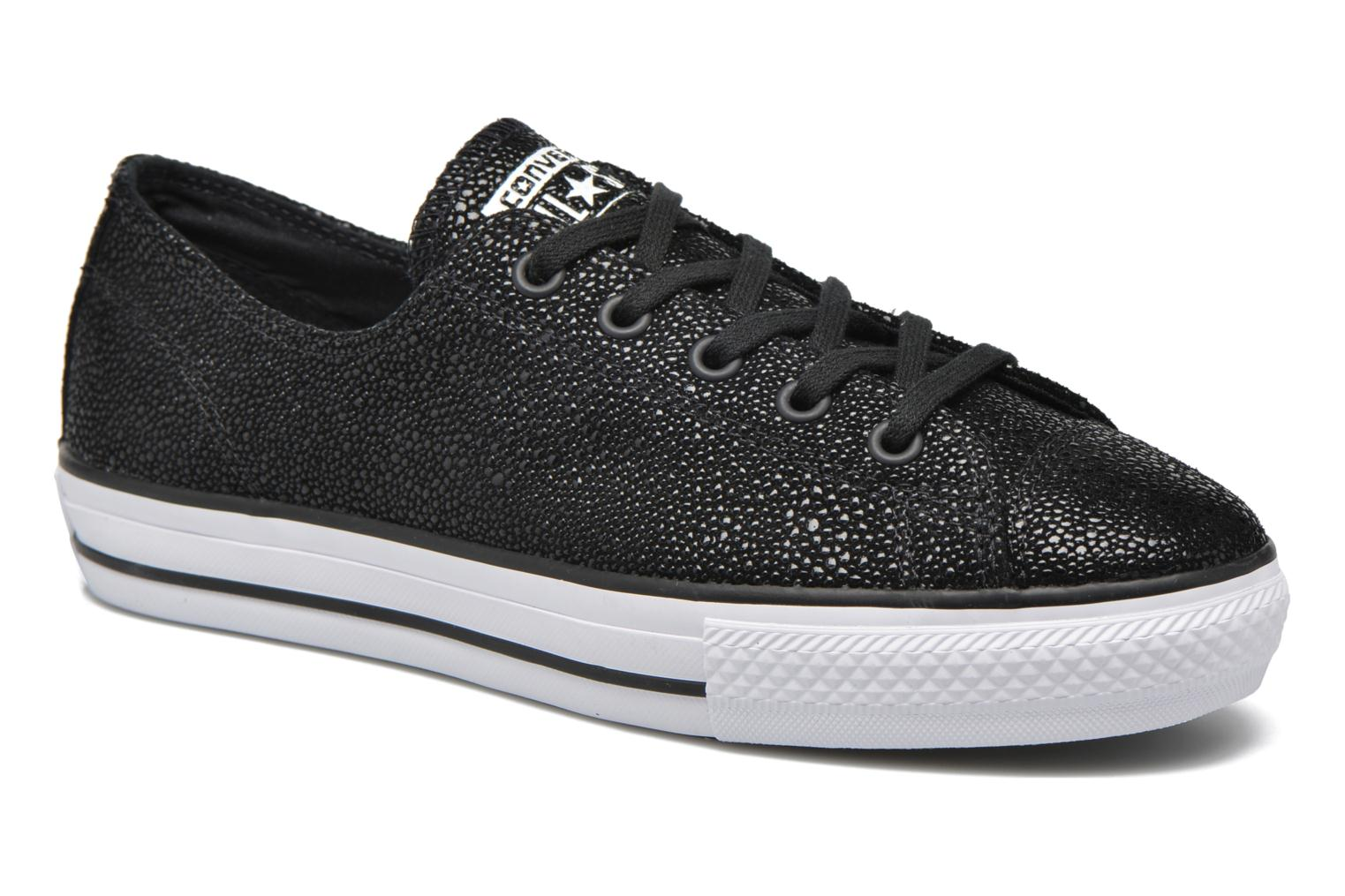 Ctas High Line Metallic Leather Ox Black