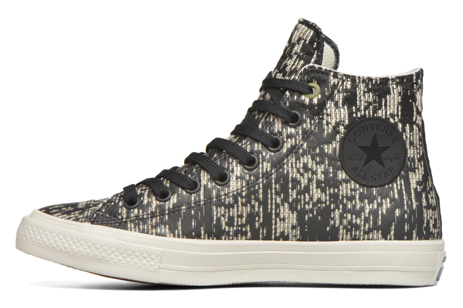 Baskets Converse Chuck Taylor All Star II Rubber Hi M Noir vue face