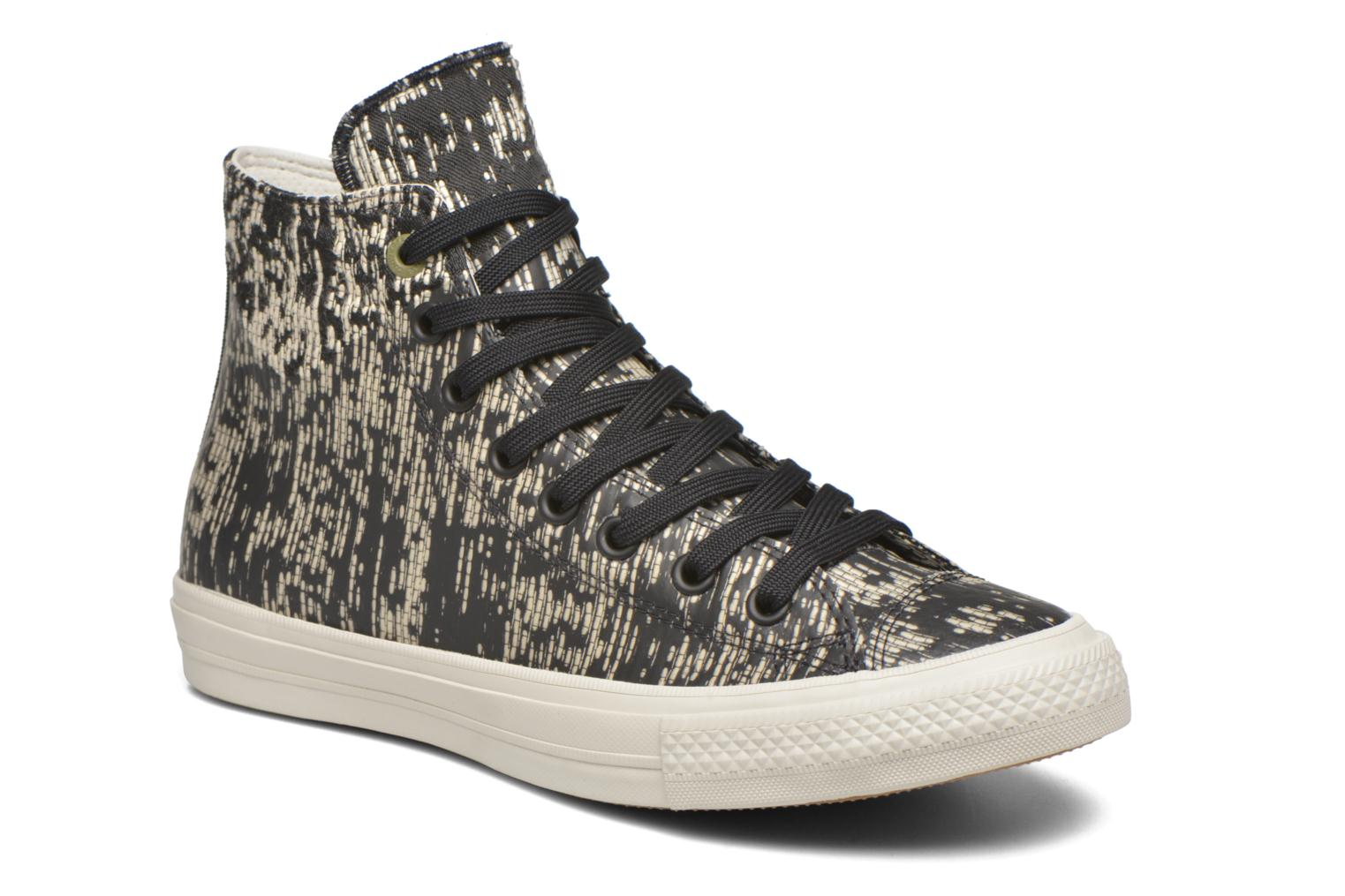 Baskets Converse Chuck Taylor All Star II Rubber Hi M Noir vue détail/paire