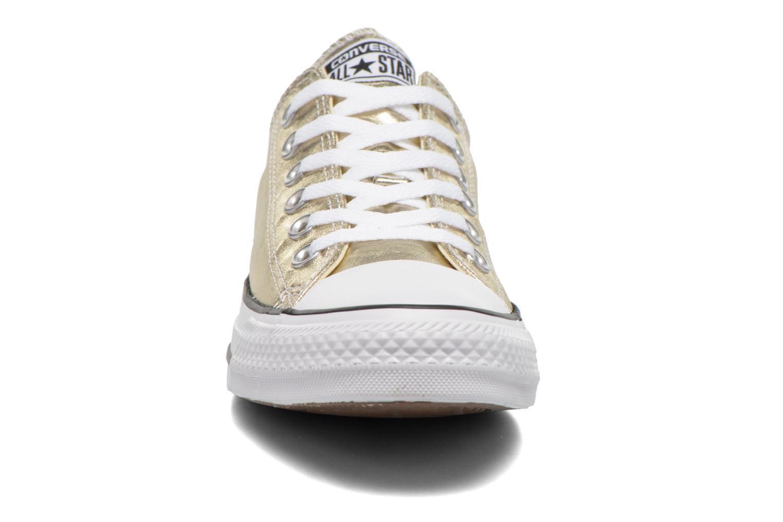 Baskets Converse Chuck Taylor All Star Ox Metallics W Or et bronze vue portées chaussures