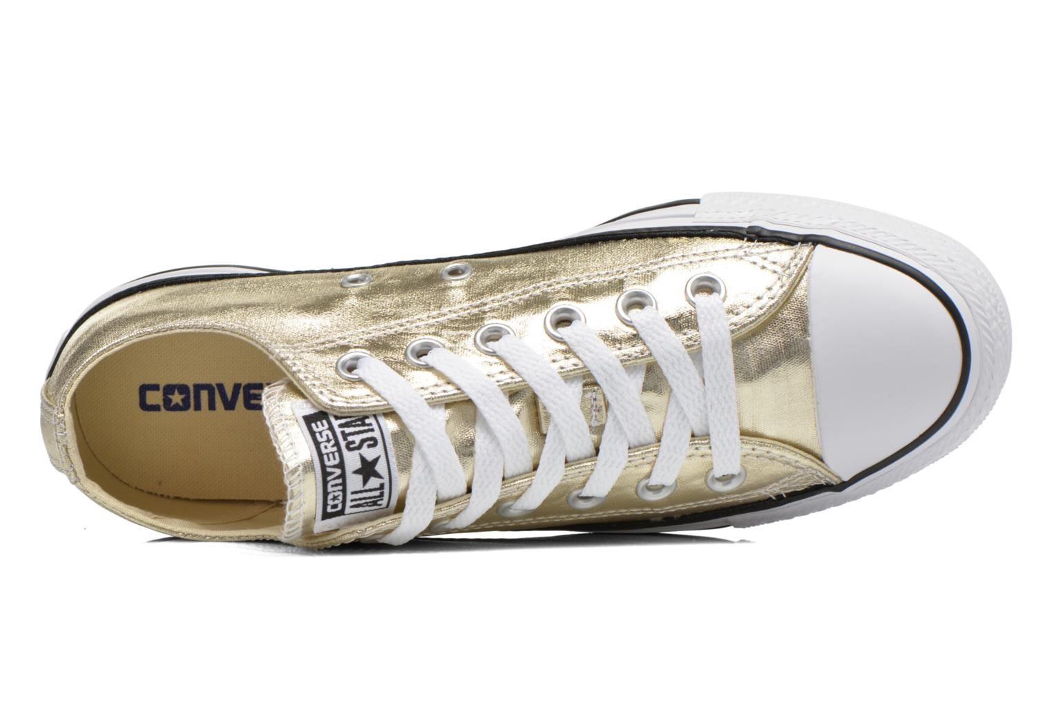 Chuck Taylor All Star Ox Metallics W GoldWhiteBlack