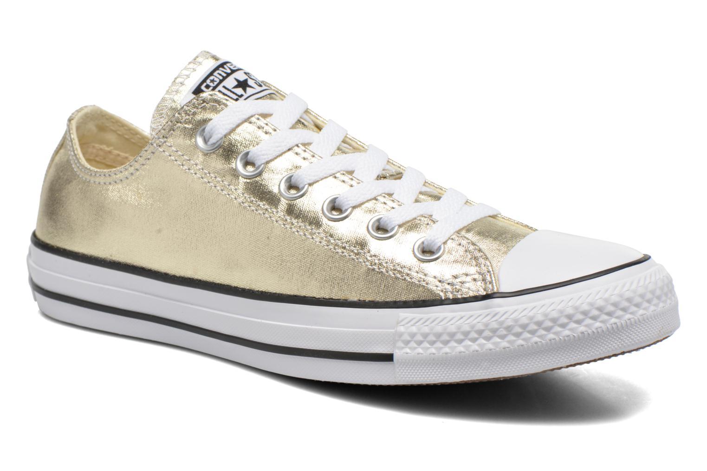 Baskets Converse Chuck Taylor All Star Ox Metallics W Or et bronze vue détail/paire