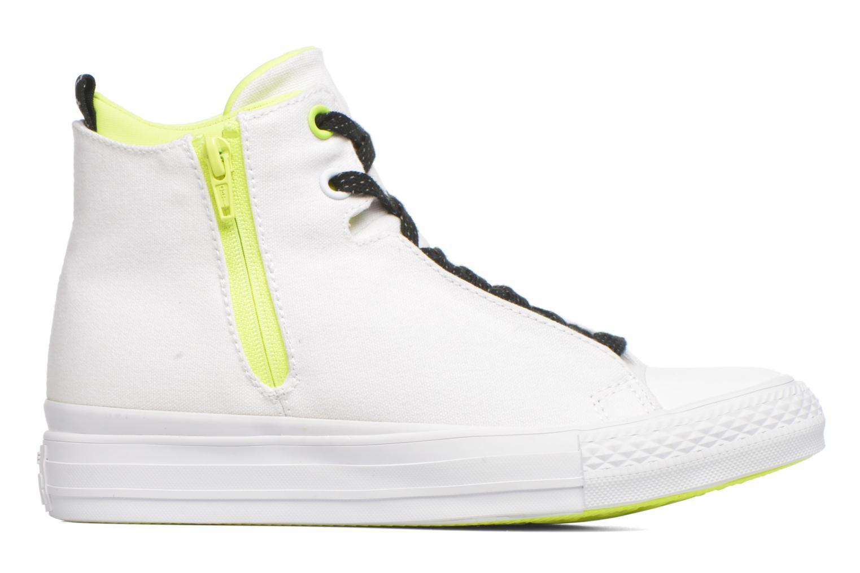 Sneakers Converse Ctas Selene Shield Canvas Mid Bianco immagine posteriore