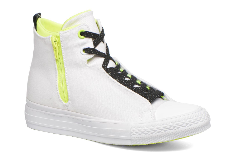 Sneakers Converse Ctas Selene Shield Canvas Mid Bianco vedi dettaglio/paio