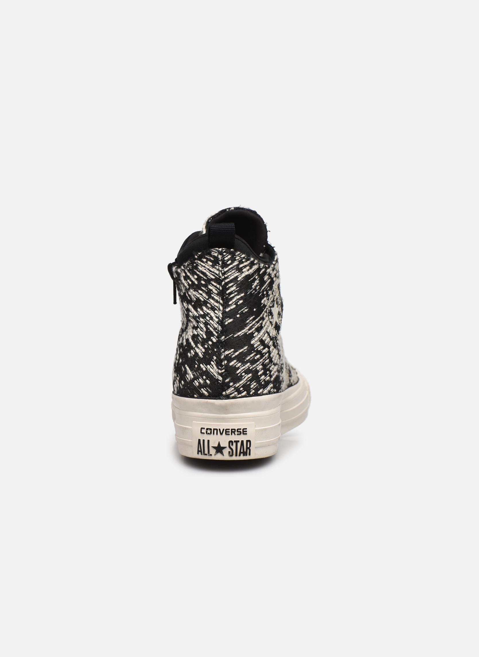 Sneakers Converse Ctas Selene Winter Knit Mid Nero immagine destra