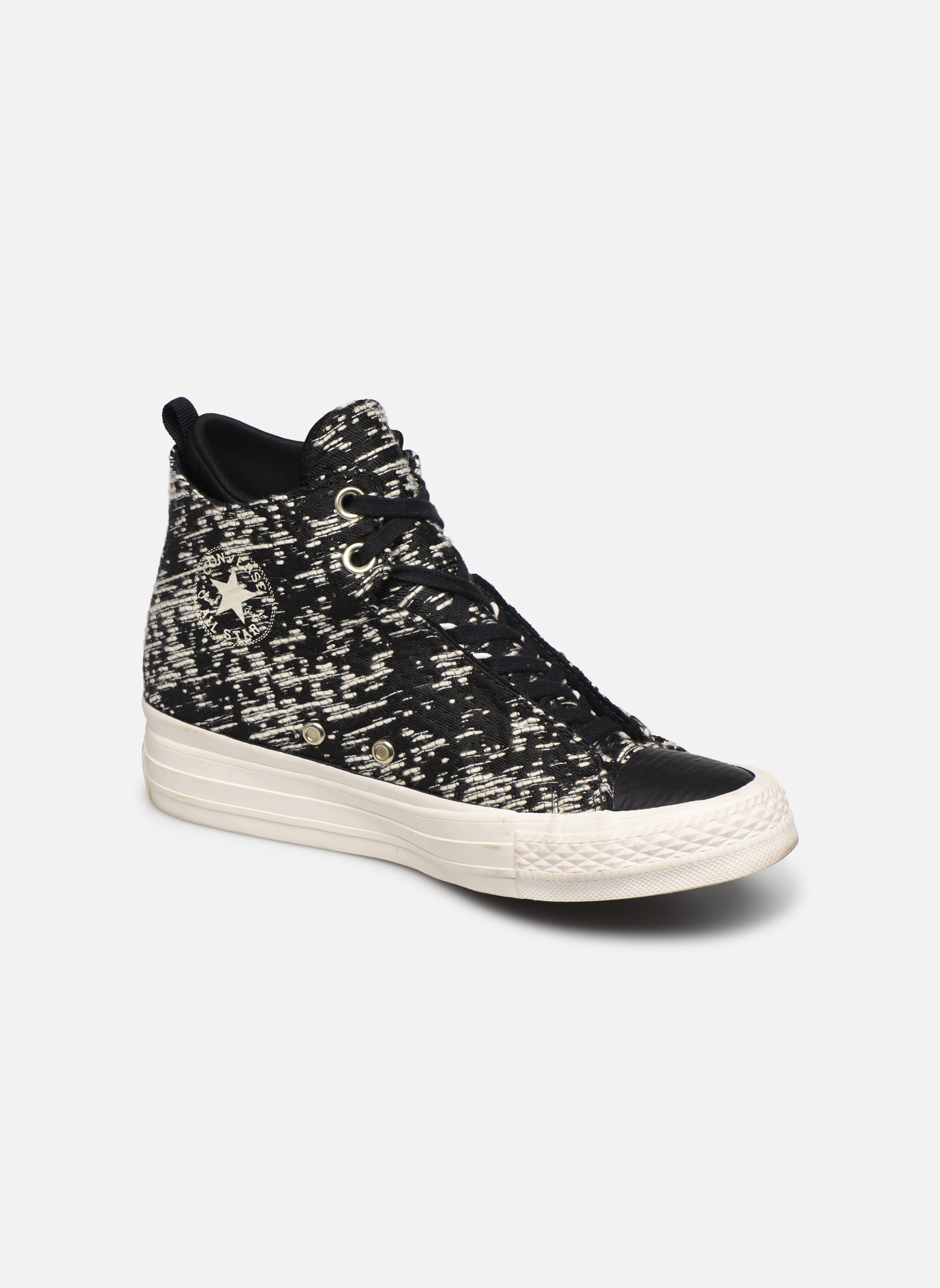 Ctas Selene Winter Knit Mid Black/gold
