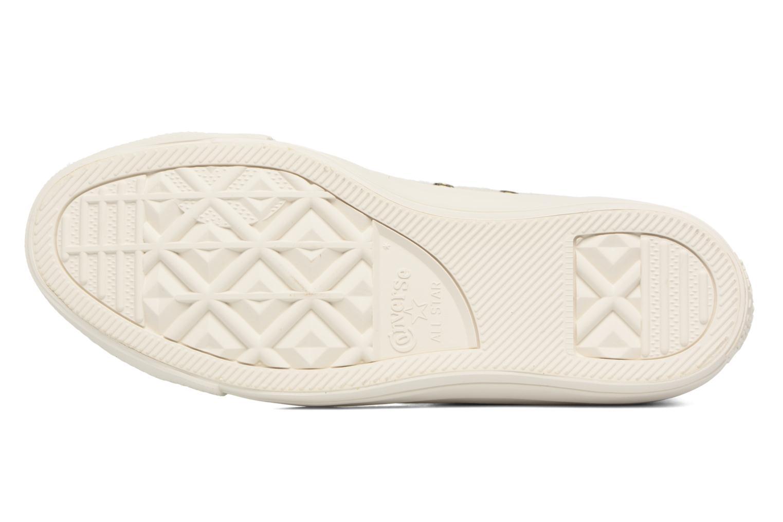 Sneaker Converse Ctas Winter Knit/Fur Hi beige ansicht von oben
