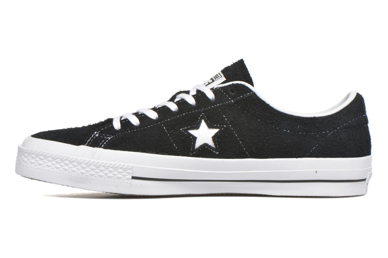 Sneaker Converse One Star Ox M schwarz ansicht von vorne