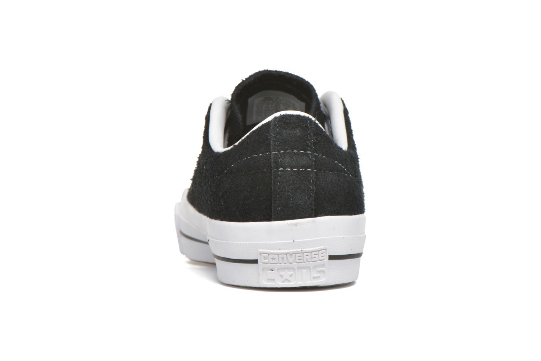Sneaker Converse One Star Ox M schwarz ansicht von rechts