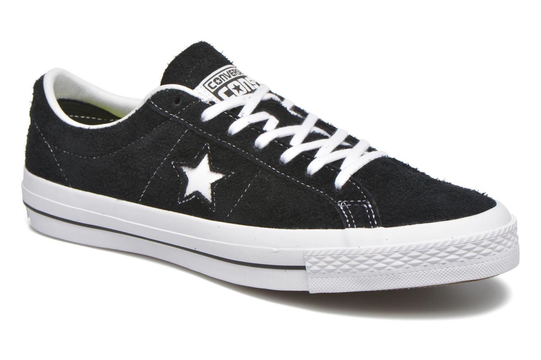 Sneaker Converse One Star Ox M schwarz detaillierte ansicht/modell