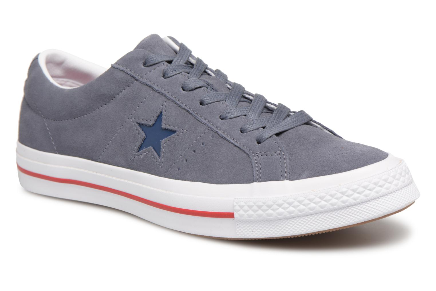 Converse One Star Ox M (Gris) - Baskets chez Sarenza (324706)