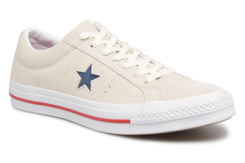 Converse One Star Ox M (Gris) - Baskets chez Sarenza (324708)