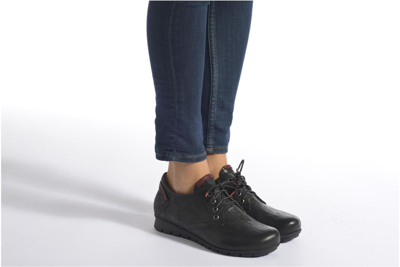 Chaussures à lacets Think! Menscha 87070 Noir vue bas / vue portée sac