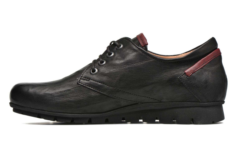 Chaussures à lacets Think! Menscha 87070 Noir vue face