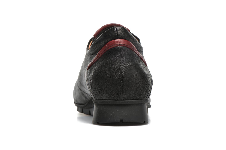 Chaussures à lacets Think! Menscha 87070 Noir vue droite