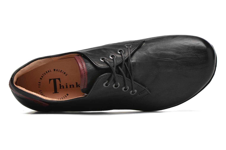 Chaussures à lacets Think! Menscha 87070 Noir vue gauche