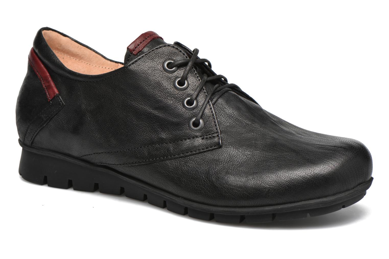 Chaussures à lacets Think! Menscha 87070 Noir vue détail/paire