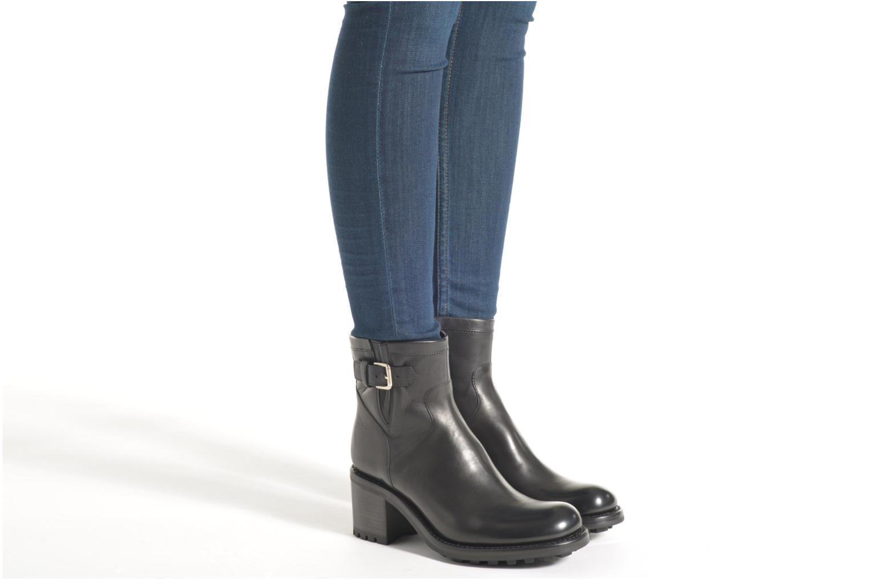 Bottines et boots Free Lance Biker 7 small gero Noir vue bas / vue portée sac