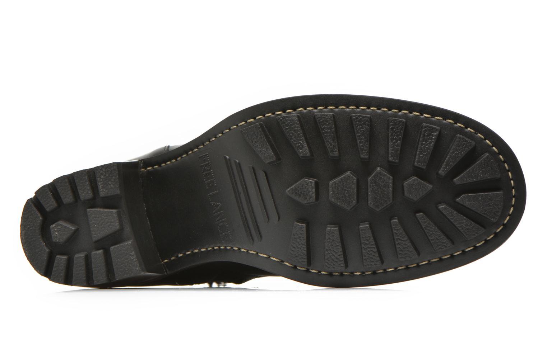 Bottines et boots Free Lance Biker 7 small gero Noir vue haut