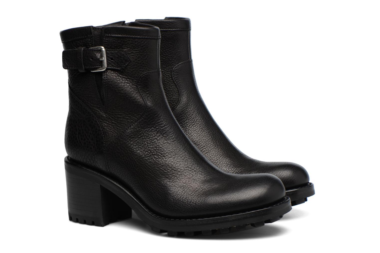 Bottines et boots Free Lance Biker 7 small gero Noir vue 3/4