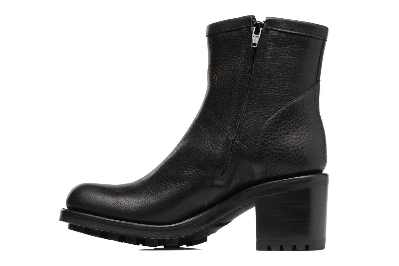 Bottines et boots Free Lance Biker 7 small gero Noir vue face