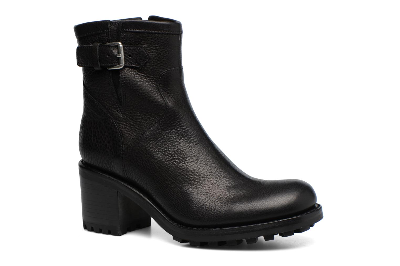 Bottines et boots Free Lance Biker 7 small gero Noir vue détail/paire