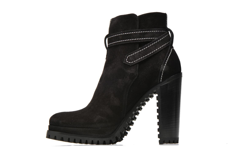 Bottines et boots Free Lance Lery 7 boot ankle steech Noir vue face