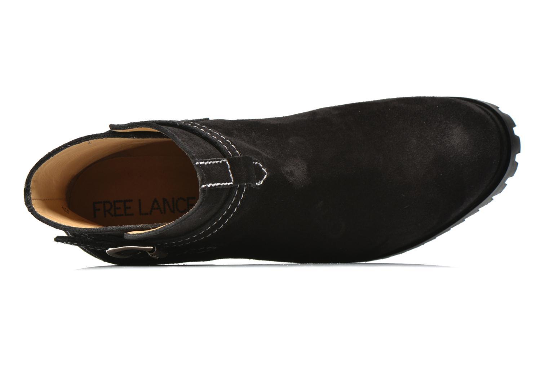 Lery 7 boot ankle steech Sonia noir fil blanc