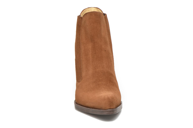 Stiefeletten & Boots Free Lance Paddy 7 boot elast braun schuhe getragen