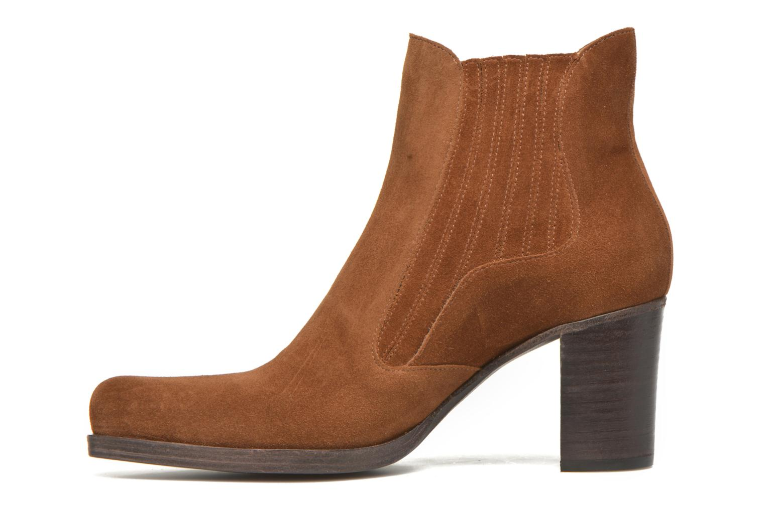 Ankle boots Free Lance Paddy 7 boot elast Brown front view