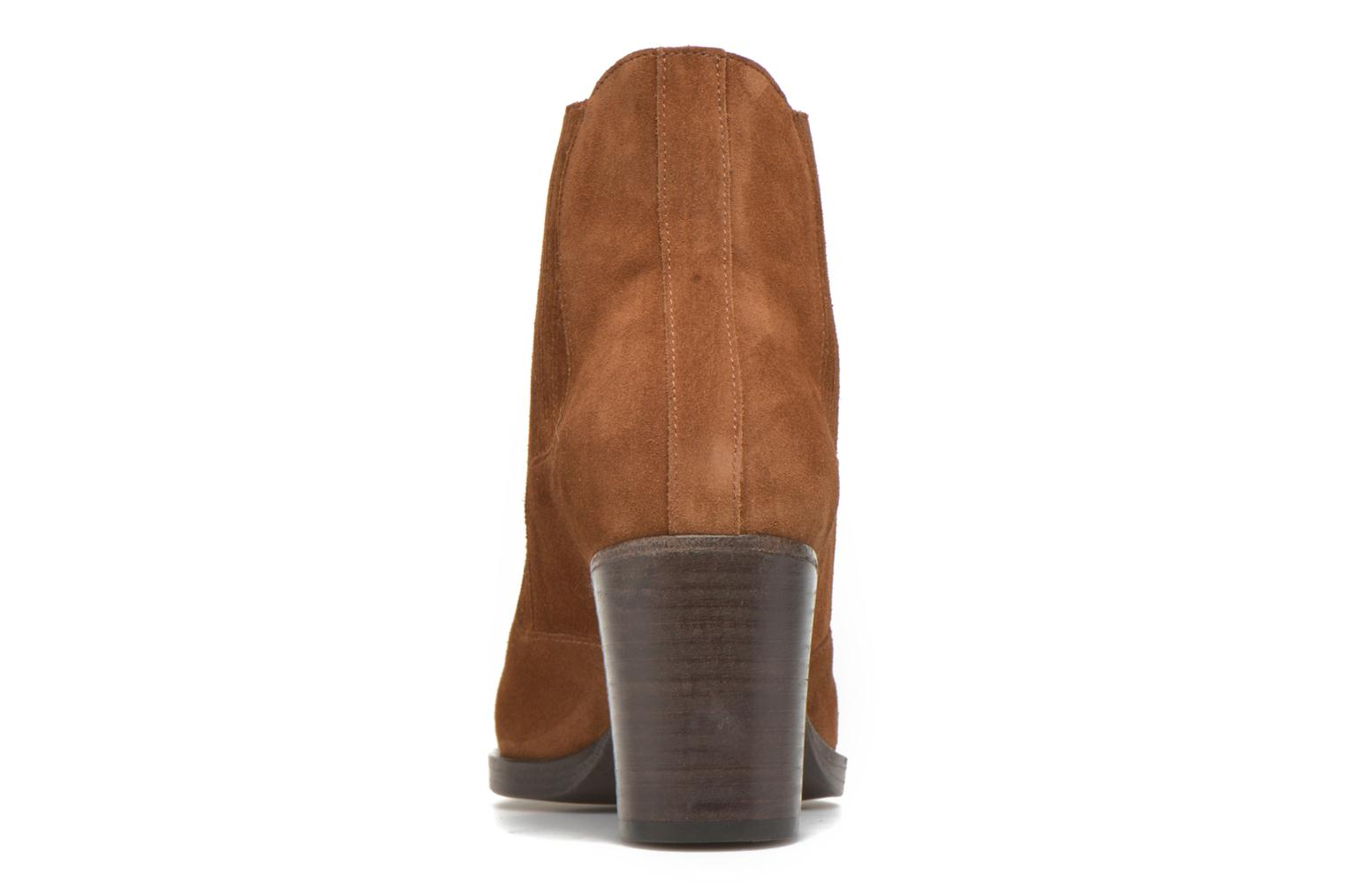 Ankle boots Free Lance Paddy 7 boot elast Brown view from the right