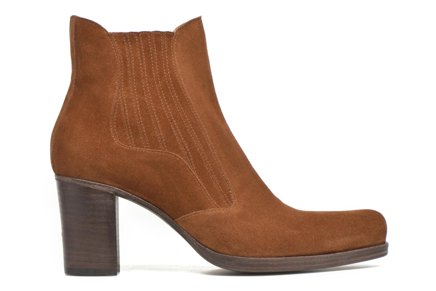Ankle boots Free Lance Paddy 7 boot elast Brown back view