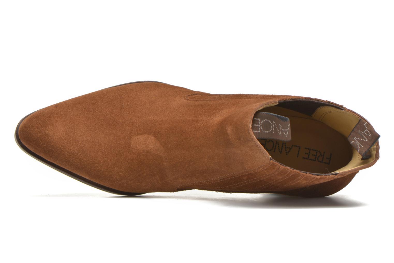 Stiefeletten & Boots Free Lance Paddy 7 boot elast braun ansicht von links