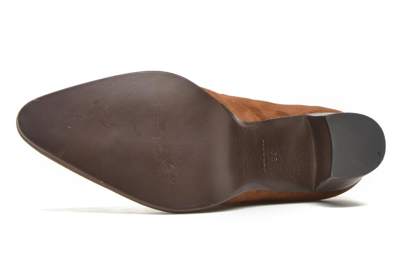 Stiefeletten & Boots Free Lance Paddy 7 boot elast braun ansicht von oben
