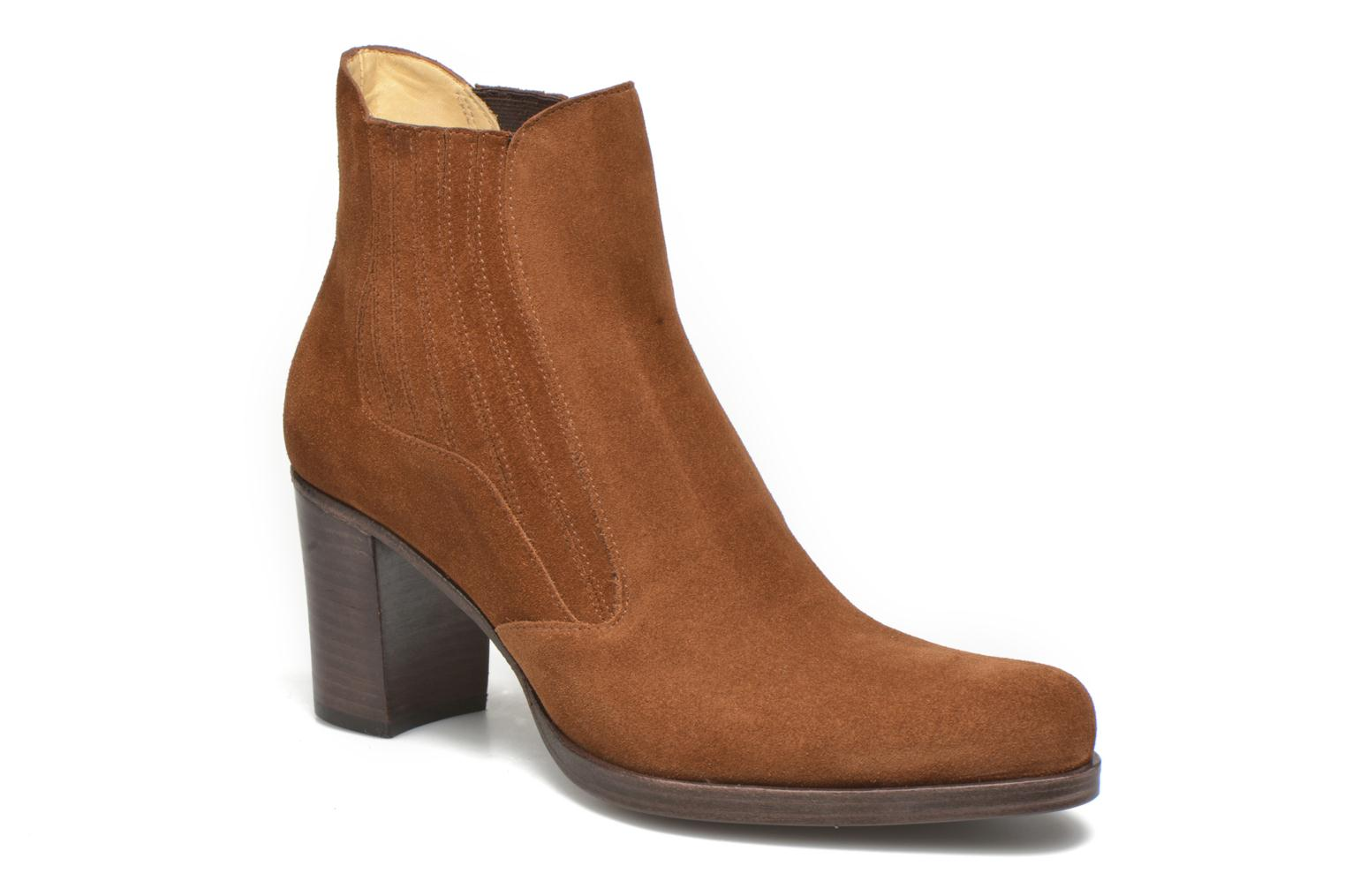 Ankle boots Free Lance Paddy 7 boot elast Brown detailed view/ Pair view