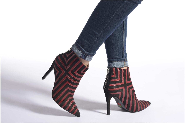 Stiefeletten & Boots Free Lance Itlys 9 bootmulstray rot ansicht von unten / tasche getragen