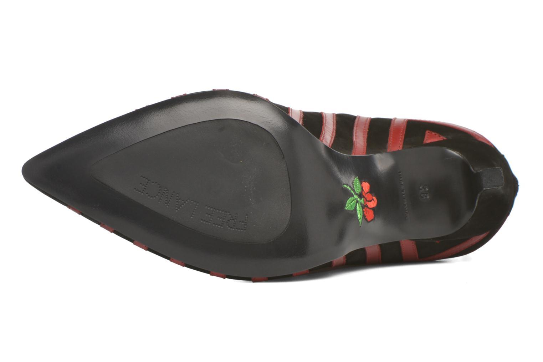 Bottines et boots Free Lance Itlys 9 bootmulstray Rouge vue haut
