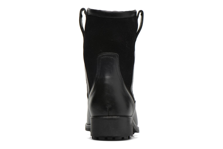 Bottines et boots Aigle Chanteside Low Fur Noir vue droite