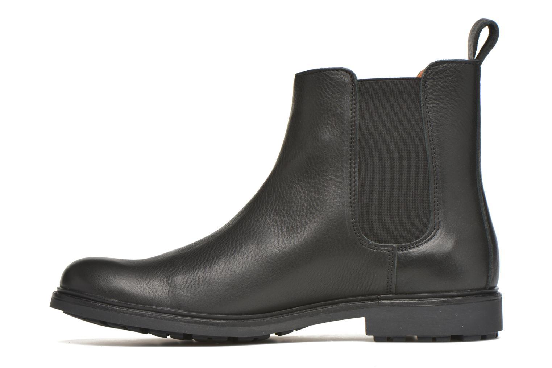Bottines et boots Aigle Greton Chelsea Noir vue face