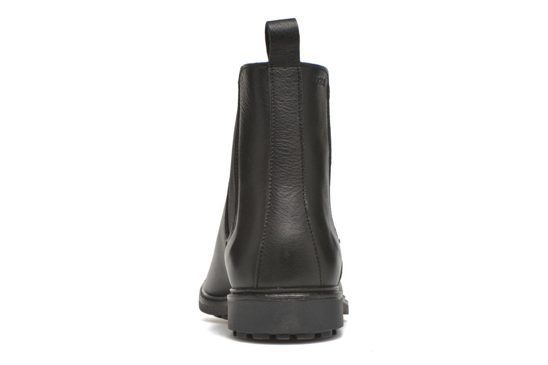 Bottines et boots Aigle Greton Chelsea Noir vue droite