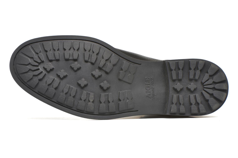Stiefeletten & Boots Aigle Greton Chelsea schwarz ansicht von oben
