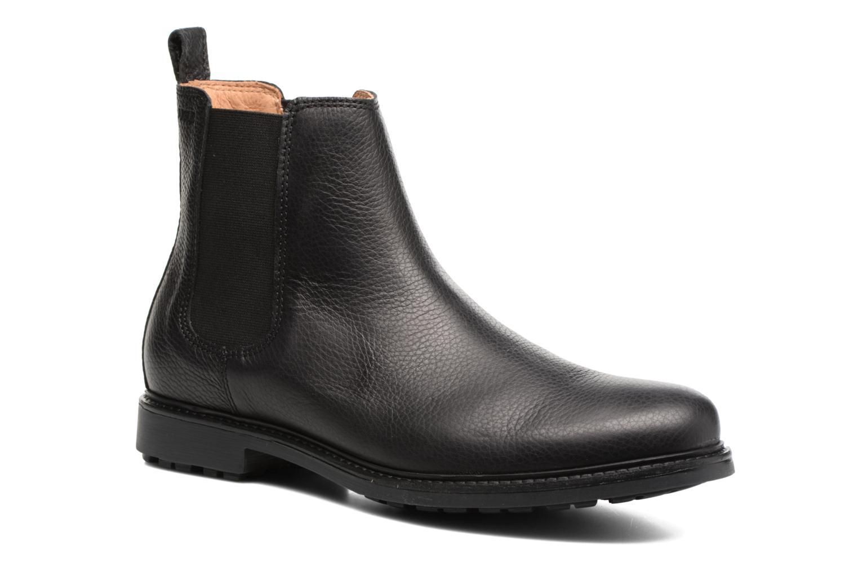 Ankelstøvler Aigle Greton Chelsea Sort detaljeret billede af skoene