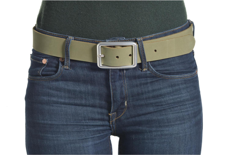 Gürtel Esprit Color basic Belt grün ansicht von oben