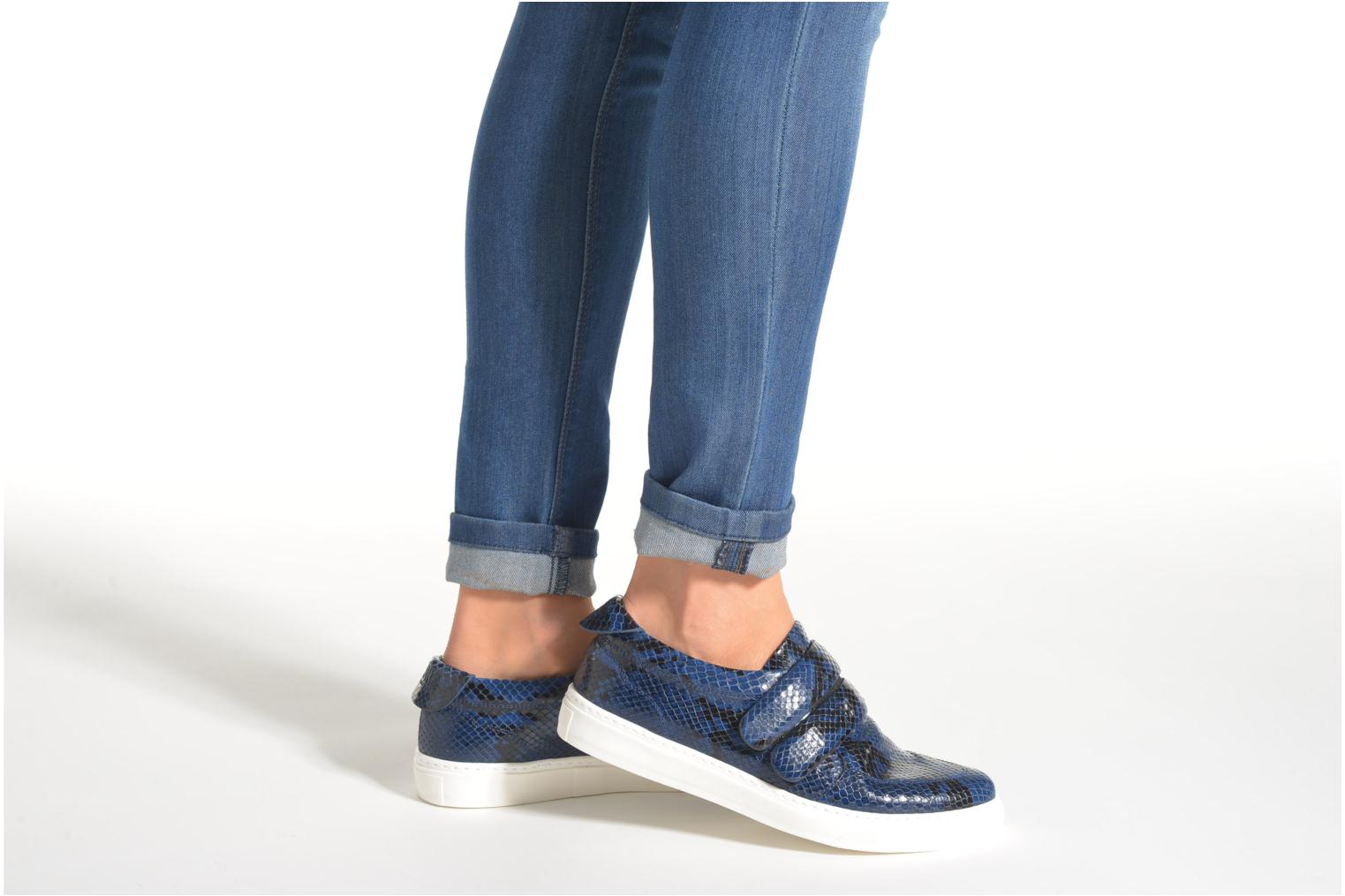 Trainers Sonia Rykiel Screw Blue view from underneath / model view