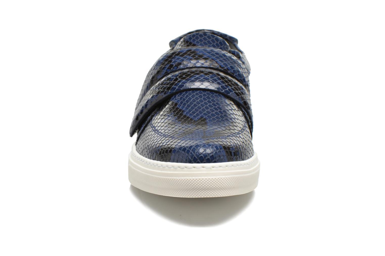 Baskets Sonia Rykiel Screw Bleu vue portées chaussures