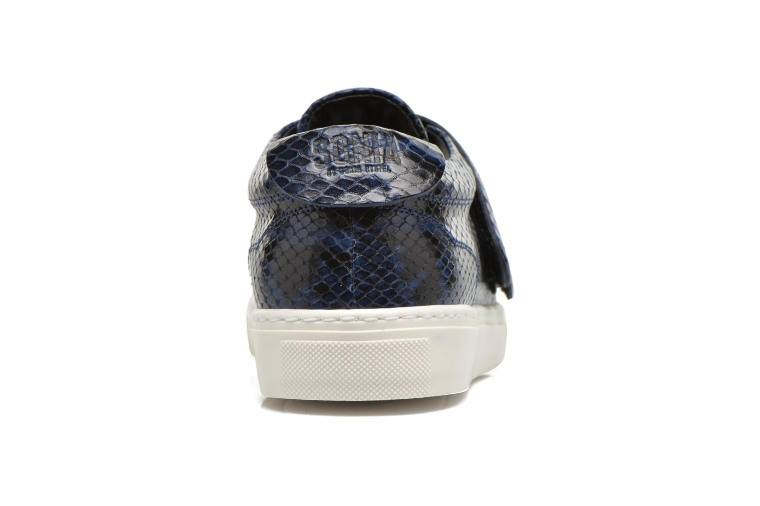 Trainers Sonia Rykiel Screw Blue view from the right