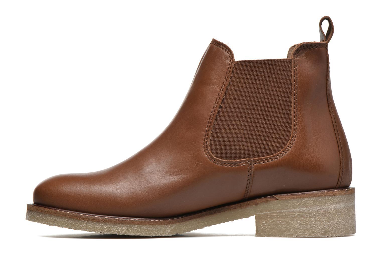 Bottines et boots Bensimon Boots semelle crepe Marron vue face