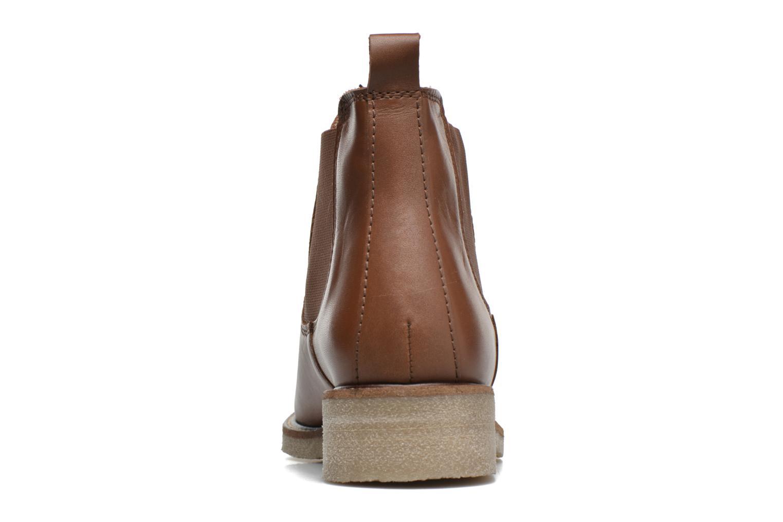 Bottines et boots Bensimon Boots semelle crepe Marron vue droite
