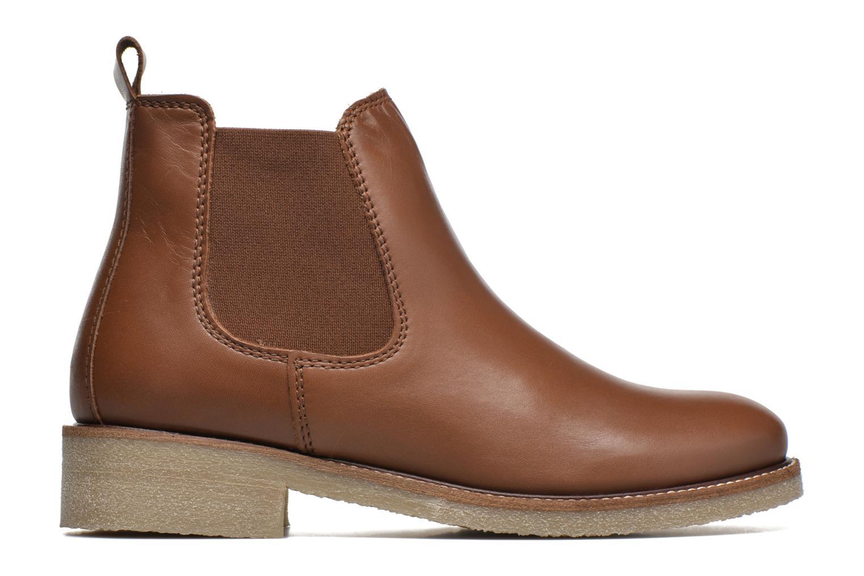 Bottines et boots Bensimon Boots semelle crepe Marron vue derrière