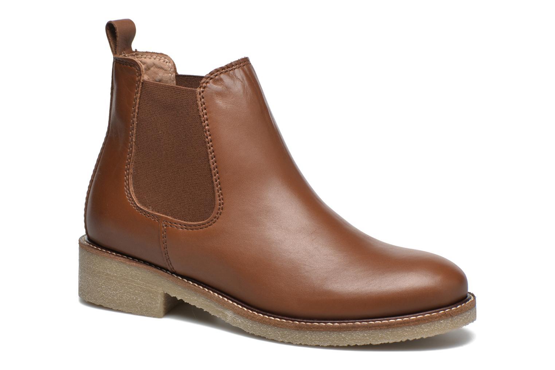 Bottines et boots Bensimon Boots semelle crepe Marron vue détail/paire